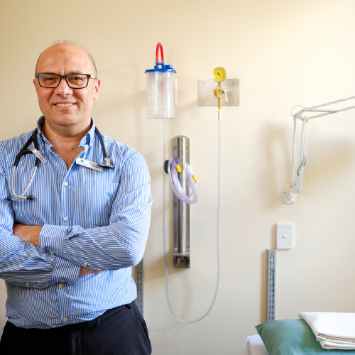 Doctor at Waitaki District Health Services