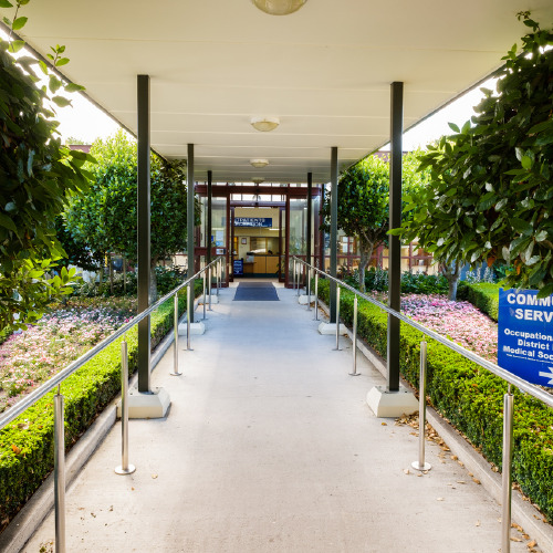 Main Entrance Waitaki Health Services