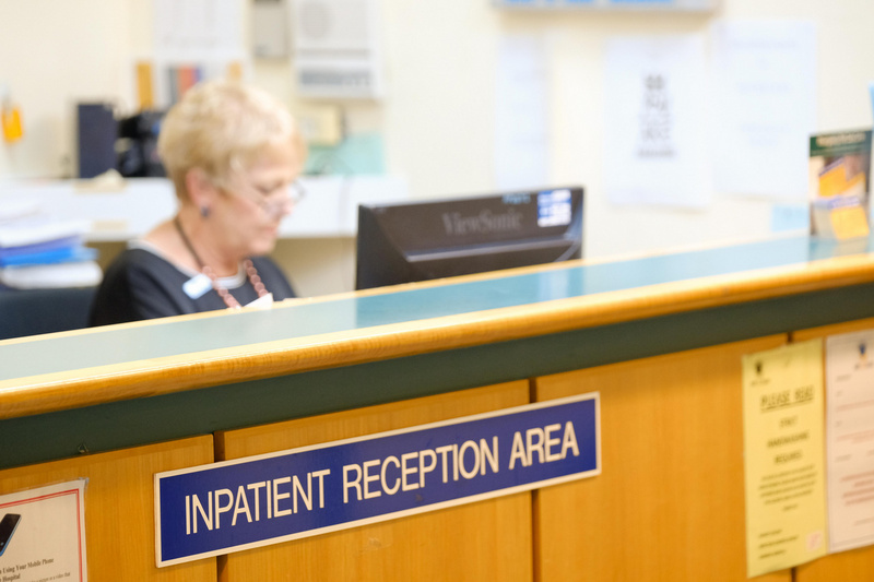 Inpatient Reception Waitaki Health Oamaru Hospital